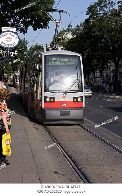 Tram, Vienne, Austria, Wien