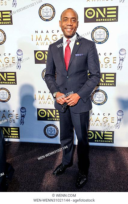 48th Annual Non Televised NAACP Image Awards - Arrivals Featuring: Cornell W. Brooks Where: Pasadena, California, United States When: 10 Feb 2017 Credit: WENN