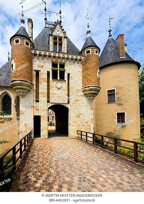 Castle Saint Florent sur Cher, Saint Florent sur Cher, Cher, France