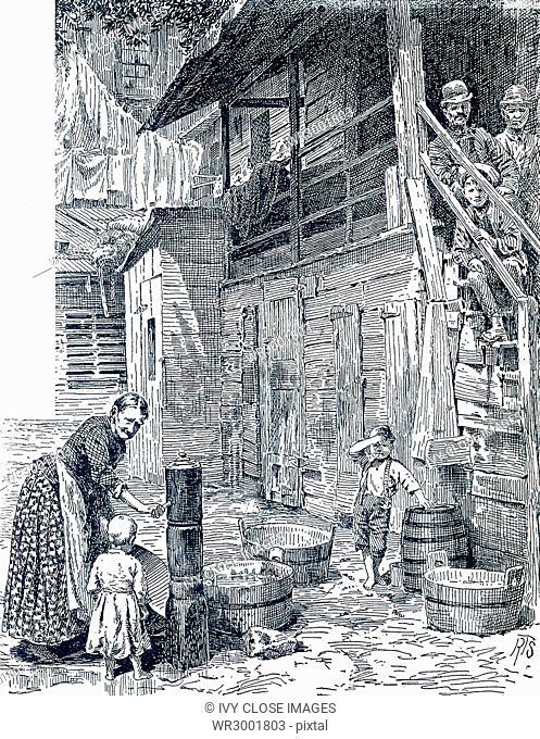 Tenement Back Alley