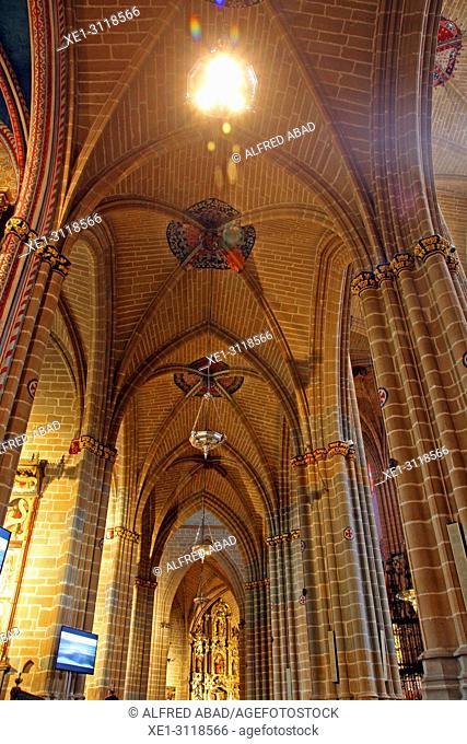 Cathedral of Santa Maria la Real, Pamplona, Navarra, Spain