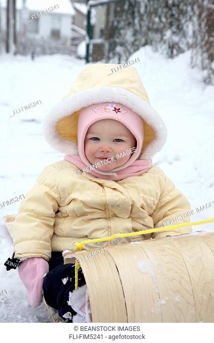 Artist's Choice: Portrait of a Baby in a Toboggan, Toronto, Ontario