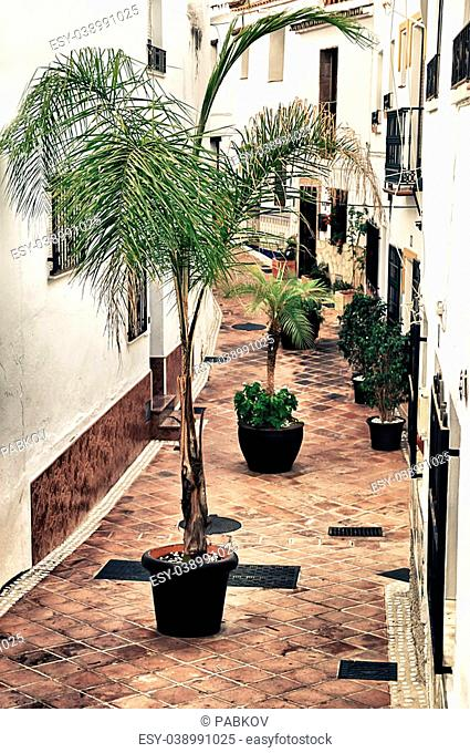 Torrox in Malaga, Spain