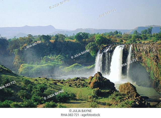 Tis Abay Waterfall, The Blue Nile, Ethiopia, Africa
