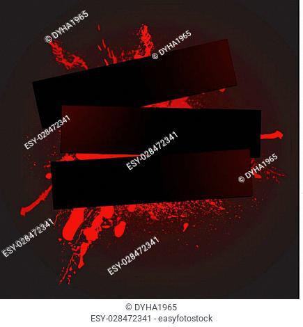 rad spray background, vector illustration