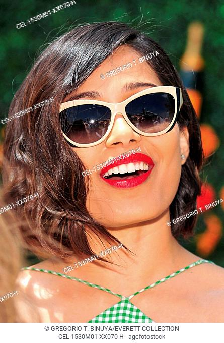 Freida Pinto in attendance for The Eighth Annual Veuve Clicquot Polo Classic, Liberty State Park, Jersey City, NJ May 30, 2015. Photo By: Gregorio T