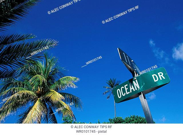 Usa, Florida, Miami Beach, Ocean drive