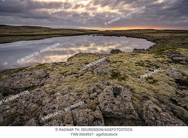 Landscape by Latrabjarg, West Fjords, Iceland