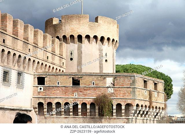 Saint Angelo castle Rome, Italy