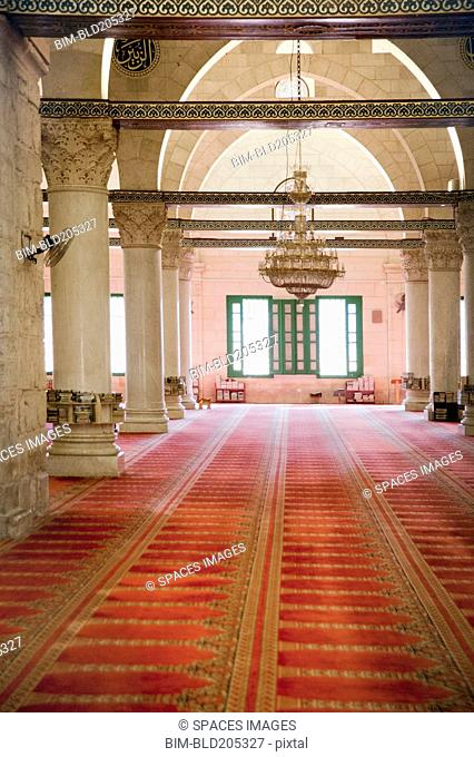 Interior Of Mosque