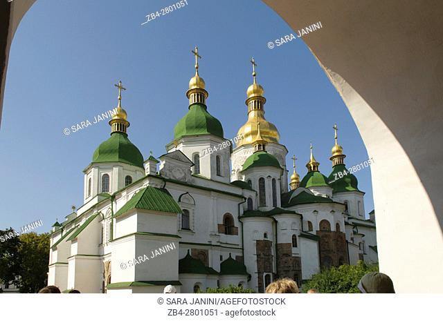Saint Sophia's Orthodox Cathedral, UNESCO World Heritage Site, Kiev, Ukraine, Eastern Europe