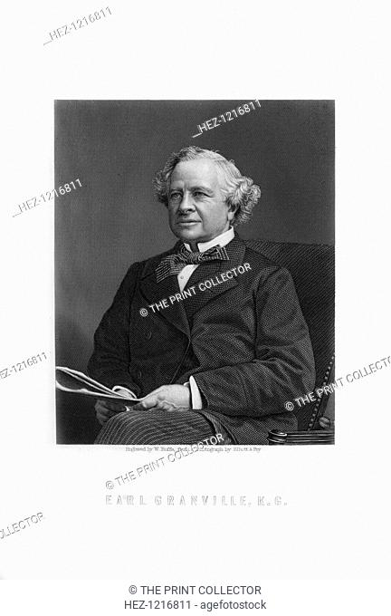 Granville George Leveson-Gower, 2nd Earl Granville, British Liberal statesman, (1893). Earl Granville (1815-1891) held various ministerial posts in Liberal...