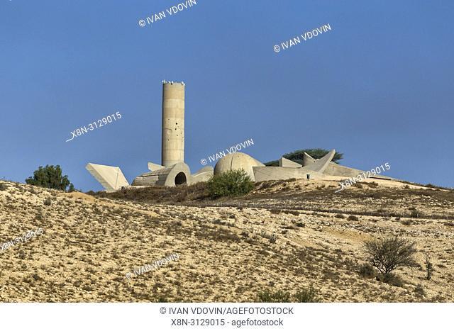 Monument to Negev brigade (1968), Beer Sheba, Israel