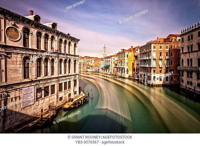 The Grand Canal and Venetian Architecture, Venice, Italy