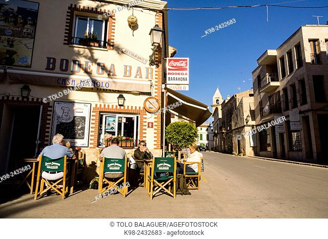 restaurante Can Barahona, casa Manolo, Ses Salines, Majorca, Balearic Islands, Spain