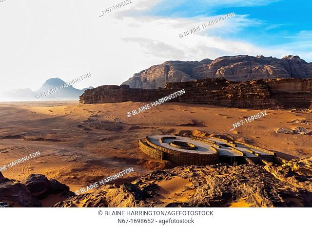 Arabian Desert at Wadi Rum, Jordan