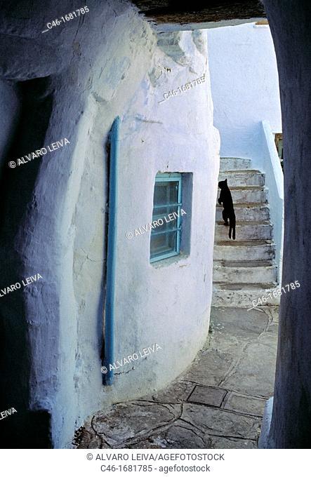 Siros island  Cyclades Islands  Greece