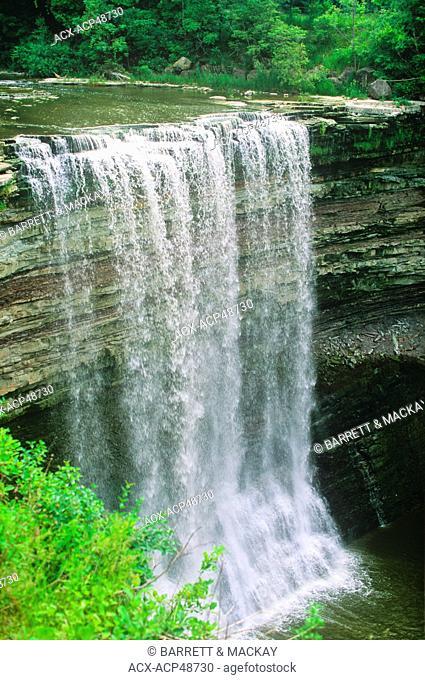 Lower Falls, Balls Falls Heritage Conservation Area, Jordan, Ontario, Canada