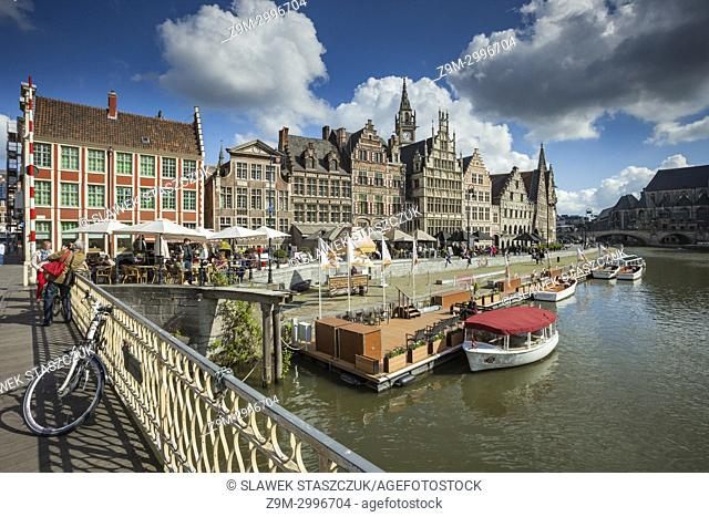 Ghent old town, Belgium