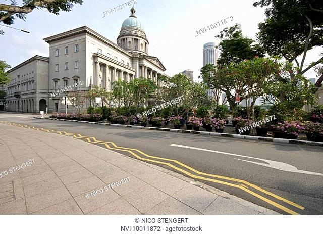 The old building of the Supreme Court, Singapore, Southeast Asia, Asia