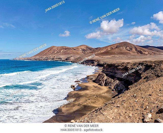 Playa La Solapa Fuerteventura, Ajuy, Spain Spain