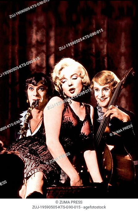 FILM TITLE: SOME LIKE IT HOT. DIRECTOR: BILLY WILDER. STUDIO: United Artists. PLOT: Two unemployed, 20's era Chicago jazz musicians