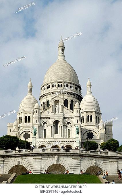 Montmartre, Sacre Coeur, Paris, Ile-de-France, France