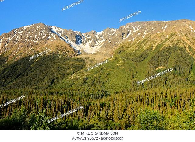 Coast Mountains on the Stewart-Cassiar Highway, Iskut, British Columbia, Canada