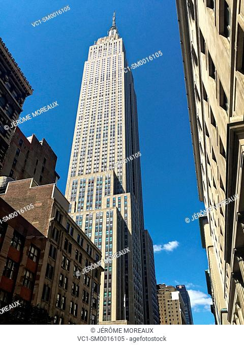 Empire State Building, Manhattan, New York, New York City, United States, USA