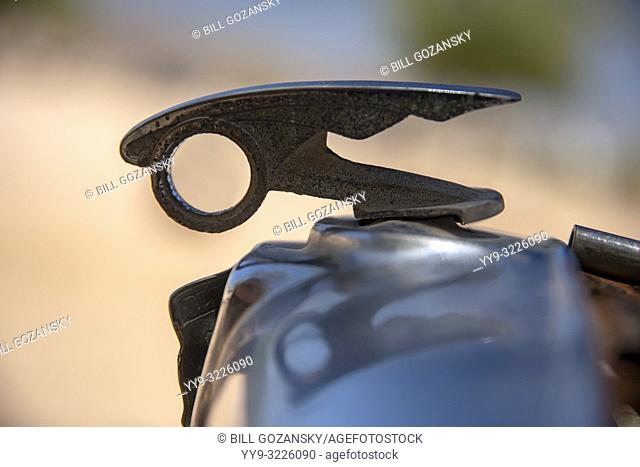 Vintage Hood Ornament - Solitaire, Khomas Region, Namibia, Africa