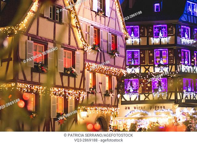 Colmar in christmas, france