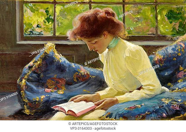 Dvorak Franz - Woman Reading by a Window