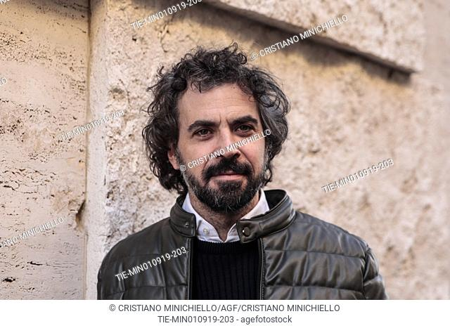 The director Alvaro Brechner during the photocall, Rome, ITALY-09-01-2019