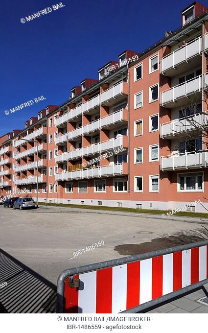 Post-war buildings, Tegernseer-Landstrasse, Munich, Bavaria, Germany, Europe