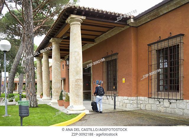 Parador or State run hotel in Tordesillas Castile Leon Spain