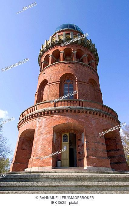 Island Rügen Ruegen Mecklenburg-Vorpommern Germany Bergen Ernst-Moritz Arndt tower built 1877