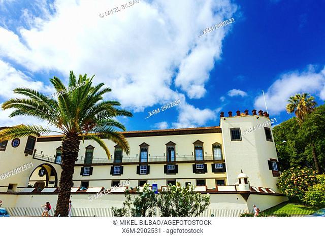 Sao Lourenco Palace. Avenida del mar. Funchal, Madeira, Portugal, Europe