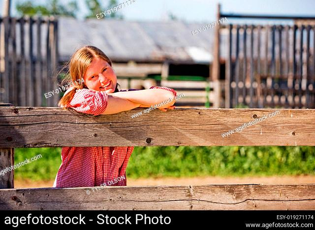 Country Farm Girl