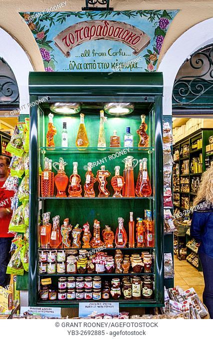 Attractive Shop Exterior, Corfu Old Town, Corfu, Greece