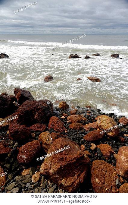 Beach kunkeshwar sindhudurg maharashtra India Asia
