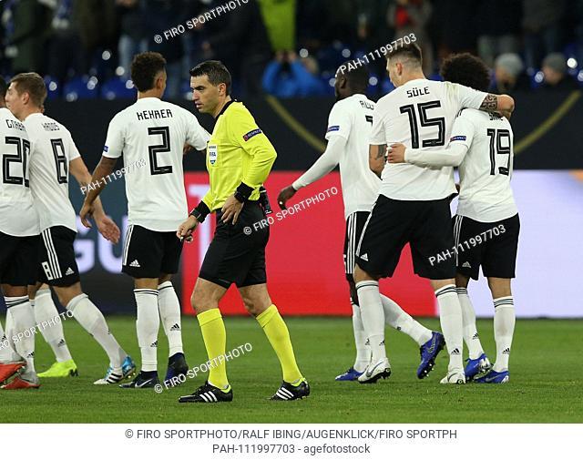 firo: 19.11.2018, Football, Landerspiel, National Team, Season 2018/2019, UEFA Nations League, GER, Germany - NED, Netherlands, Holland