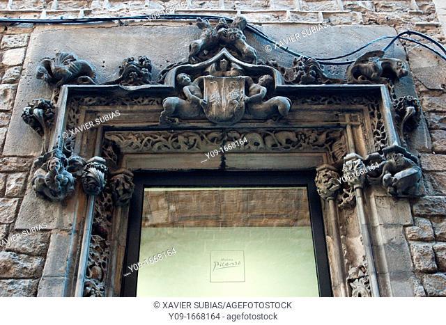 Picasso Museum, Moncada street, Barcelona, Spain