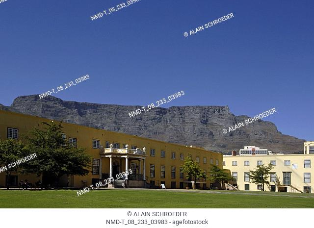 Garden in front of a building, Castle of Good Hope, Cape Town, Western Cape Province, South Africa