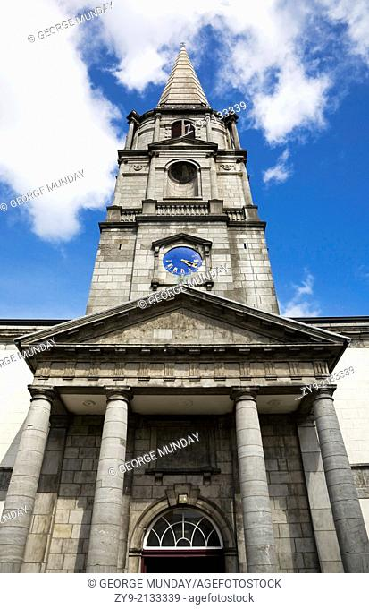 The Facade of Christ Church Cathedral, Waterford City, Ireland