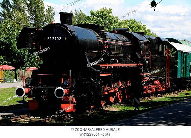 Steam Engine BR 52, Vienna