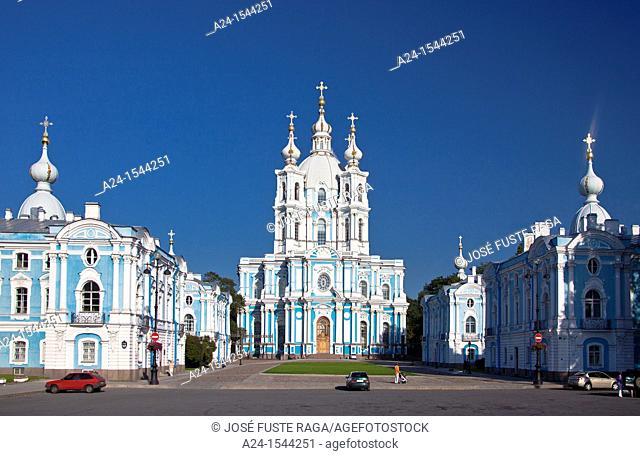 Rusia , San Petersburg City, Smolny Monastery