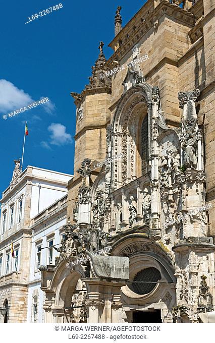 Mosteiro de Santa Cruz, Santa Cruz Monastery, Coimbra, Portugal, Europe