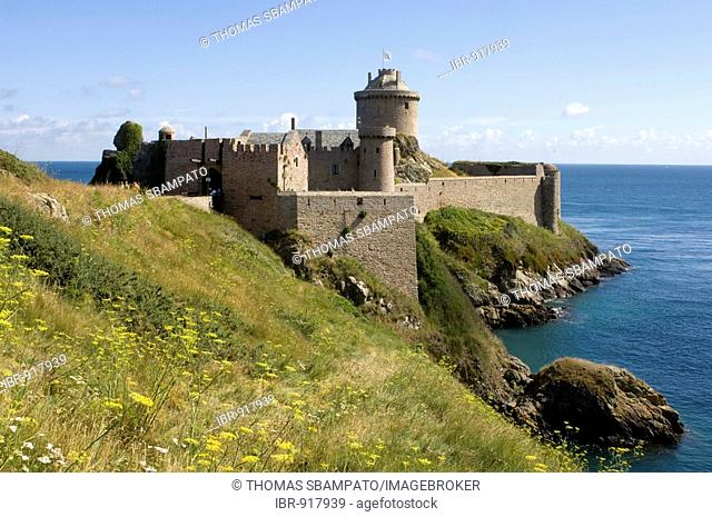 Fort la Latte Fortress near Cap Frehel, Bretagne, France, Europe