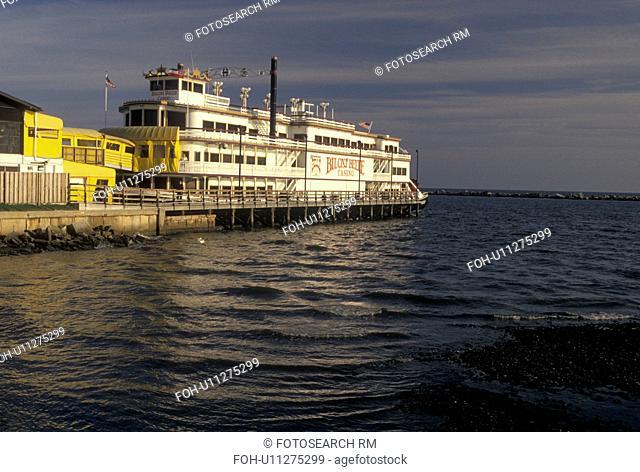 casino, Biloxi, Mississippi, riverboat, MS, Biloxi Belle Casino Riverboat on the Gulf of Mexico in Biloxi