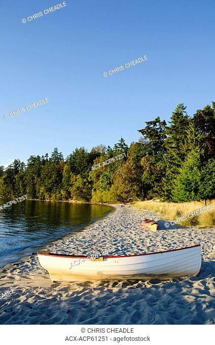 Sidney Spit, Sidney Island, Gulf Islands National Park, British Columbia, Canada
